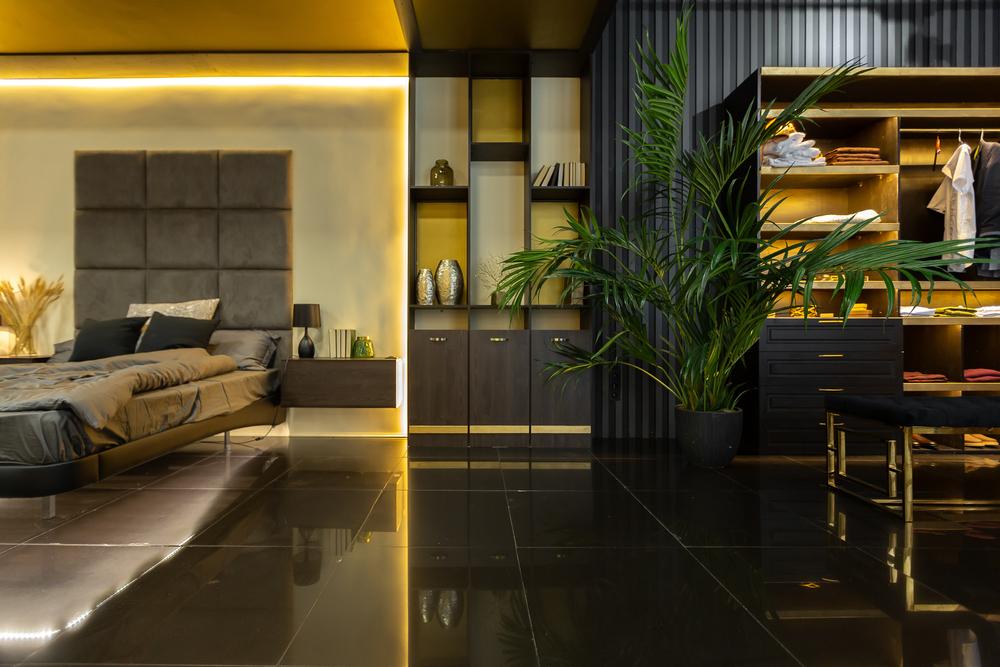 decoración moderna de dormitorio