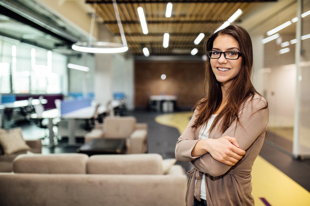 iluminación para negocios de startup
