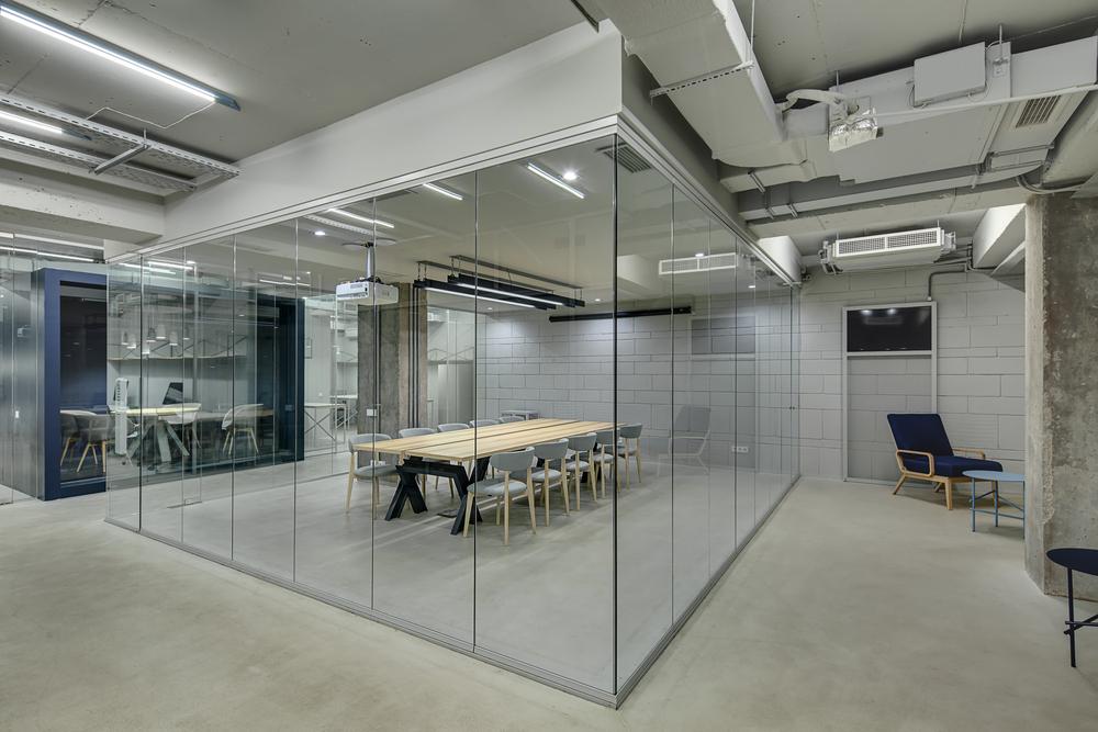 iluminación LED profesional para oficinas