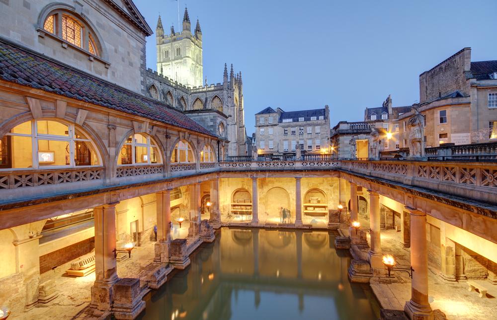 termas romanas: el origen para poder iluminar un baño en la actualidad