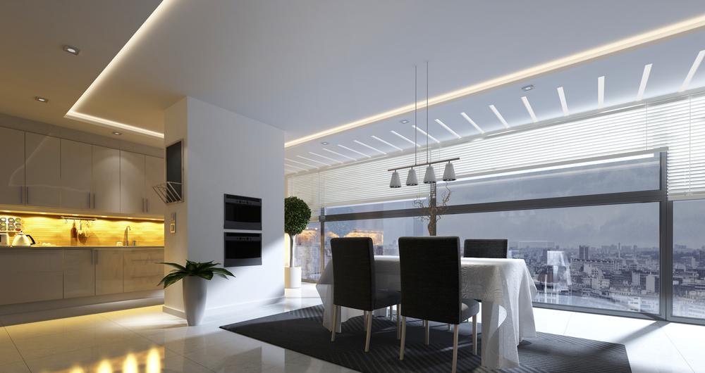 iluminación LED integrada. 6 cosas que debes conocer.