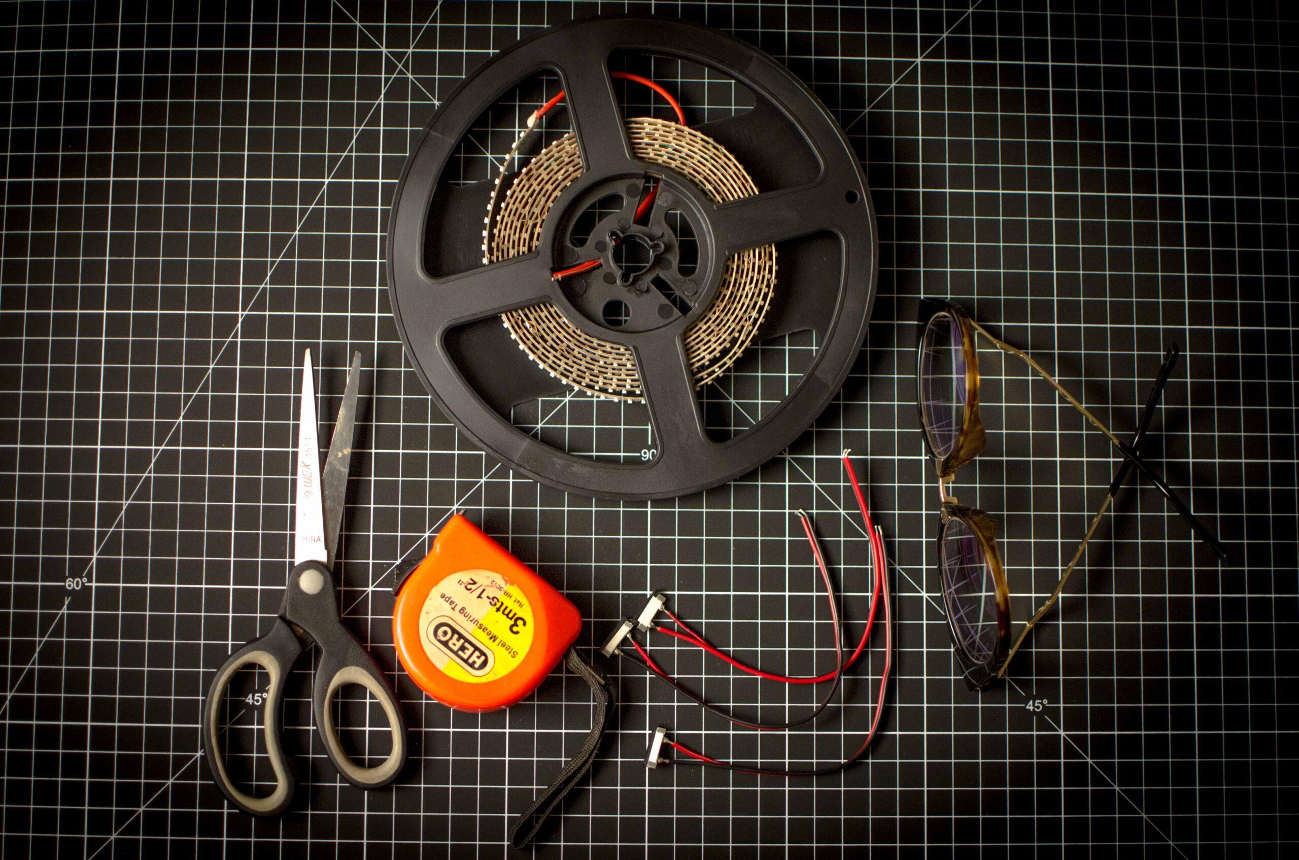 como conectar 2 tiras LED