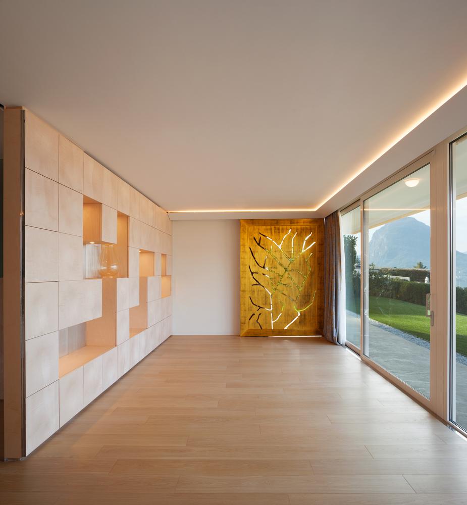 iluminación LED para el hogar en sala