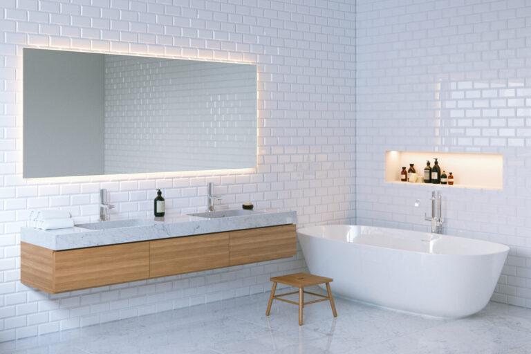 iluminación LED decorativa para el baño