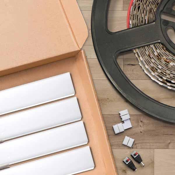 tiras LED para iluminar el hogar