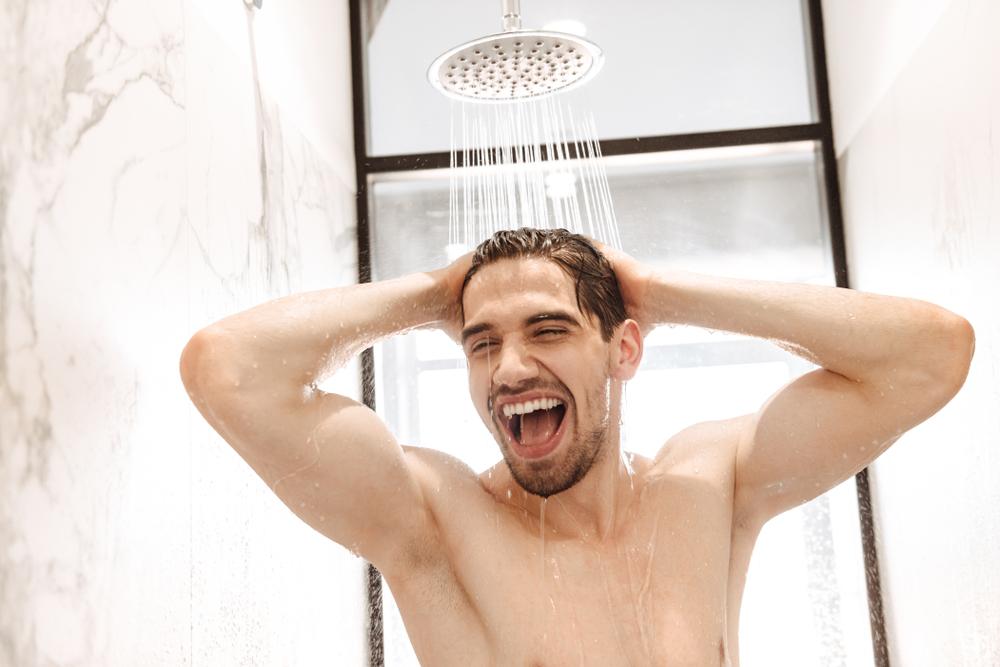temperatura de color ideal para la ducha
