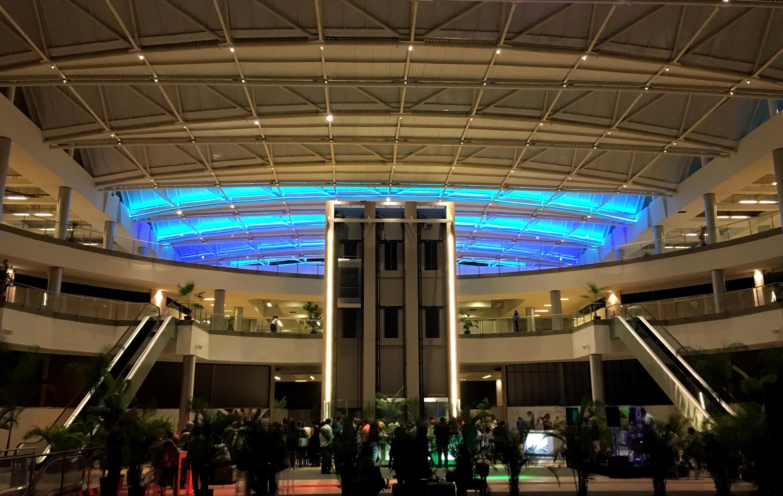 arquitectura y diseño de mall