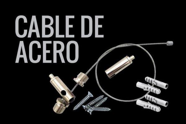 cable de acero para suspender luminarias lumstock