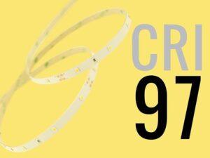 LED CRI 95 BLANCO NEUTRO  TRUE COLORS: 24V - (30 LEDS/M) - NEUTRA - Lumstock