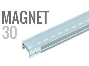 MAGNET: BARRA LED 30CMS RIGIDA Y MAGNETICA. 30CMS. - Lumstock