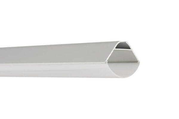 Perfil para tira LED IGNA LUMSTOCK con protector de policarbonato MILKY