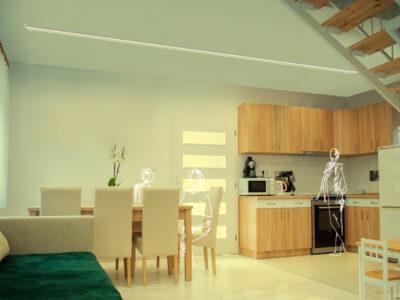Kit de Iluminación LED para salón comedor moderno