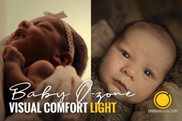 iluminación para el confort visual en la habitación de niños pequeños