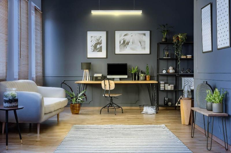 iluminacion LED para homeworking