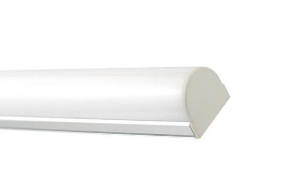 Perfil para tira LED OLGA LUMSTOCK incluye tapa de policarbonato y end caps para sellar