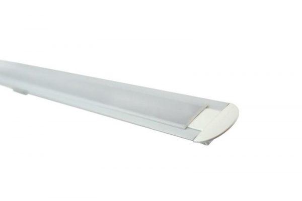 Perfil para tira LED PATH LUMSTOCK ideal para empotrar