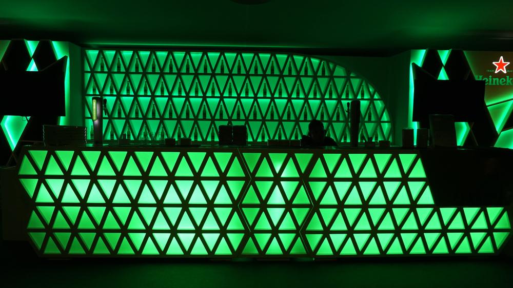 RGB LED VERDE PARA RETRO ILUMINAR