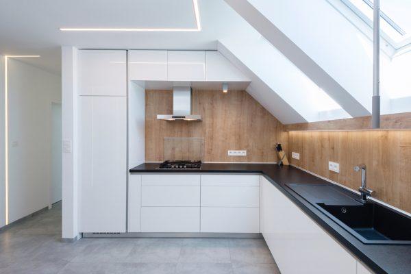 Perfil tira LED para albañilería en paredes y techos