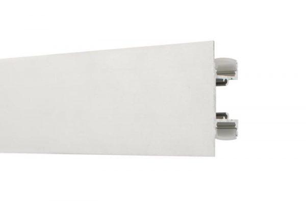 Perfil para tira LED SICCA LUMSTOCK de doble emisión de luz