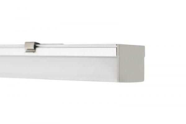 Perfil para tira LED TED de forma cuadrada