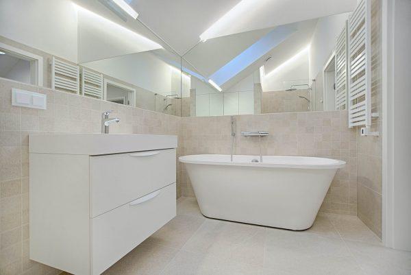 iluminacion para resaltar baños