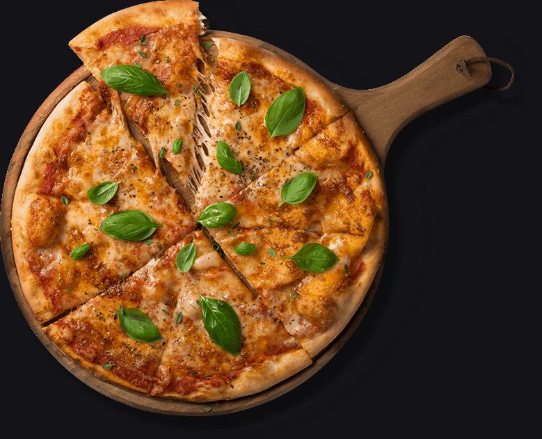 ilumina tu pizza en un comedor de diseño