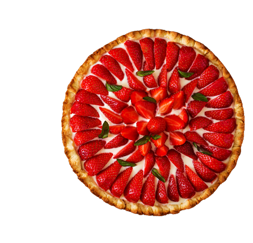 tart-with-strawberries-whipped-cream-decorated-with-mint-leaves-top-view-removebg-preview