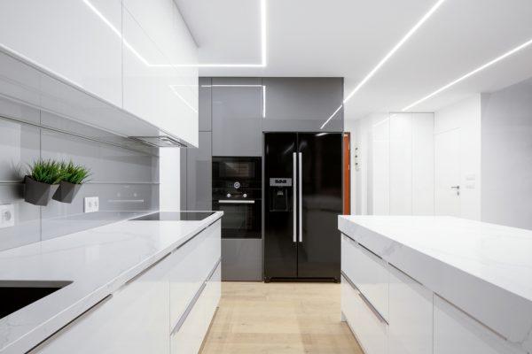 cocinas de lujo para casas modernas