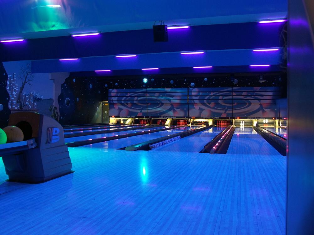 tiras LED rgb monocolor para centro de bowling