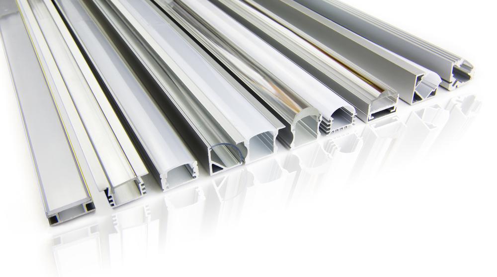 tiras de LED con perfil de aluminio