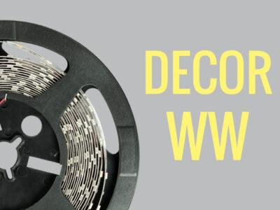tira LED para rodapie blanco cálido