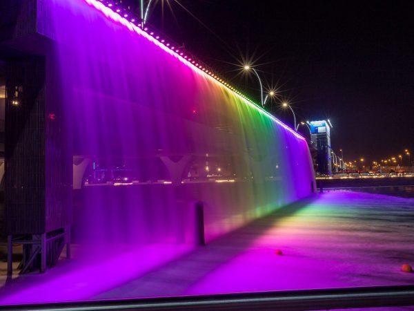 Tira LED exterior manguera RGB para embellecer