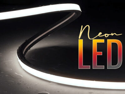 neon led emision lateral blanco frio