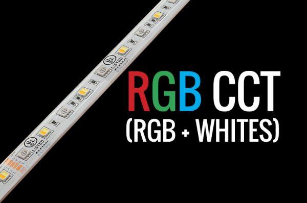 Tira LED RGB CCT para decorar y acentuar