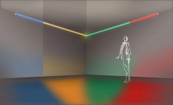 Kit LED para acentuar con luz de color