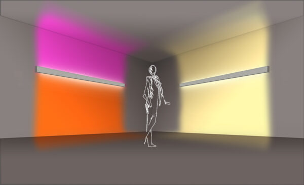 Doble emisión de luz RGB
