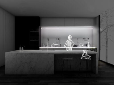 Regleta led para mueble de cocina