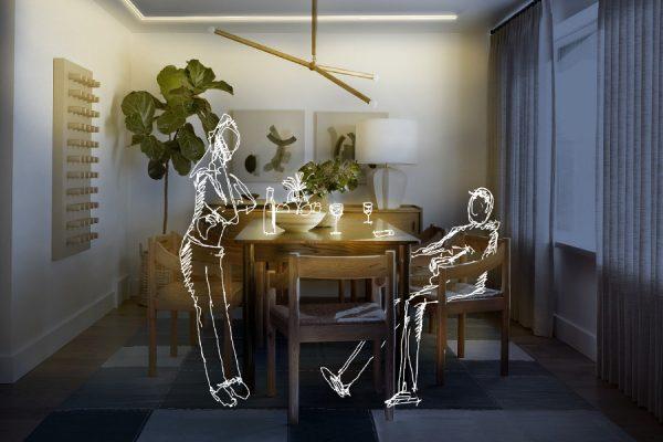 kit de iluminación ambiental para cocina salón comedor