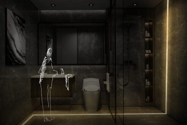 reformas de baños: kit de iluminación pre diseñada