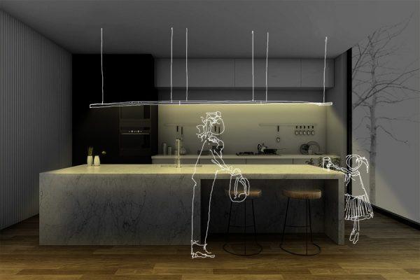 KIT SIBARITA: ILUMINACION PARA barras de cocina - Lumstock
