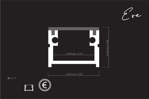 medidas perfil EVE