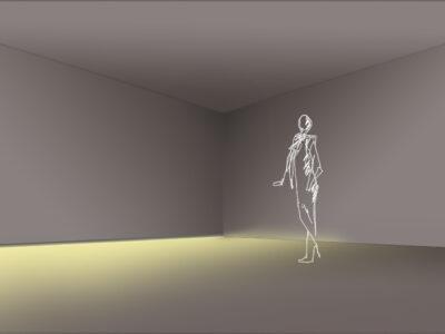 Rodapié efecto LUJO con iluminación