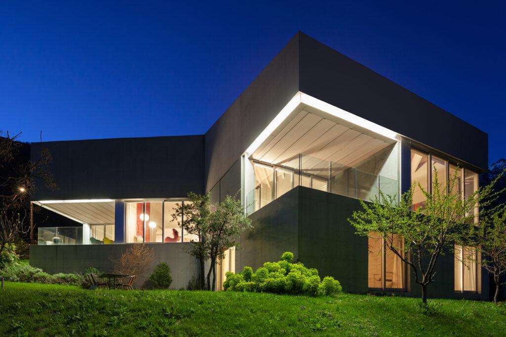 Tira LED exterior manguera emisión doble cara para exteriores y jardines