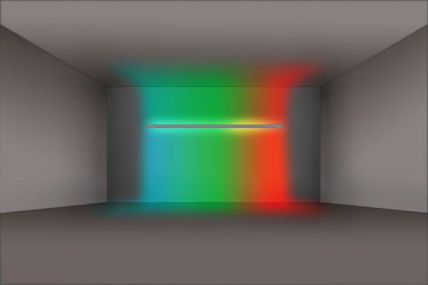 Doble emisión de luz RGB + BLANCO